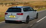 Volkswagen passat Estate R Line 2019 UK review - hero rear