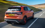 Volkswagen T-Cross 2019 UK first drive review - hero rear