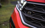 Volkswagen T-Roc R 2020 UK first drive review - R badge front bumper