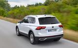 Volkswagen Tiguan eHybrid 2020 first drive review - hero rear