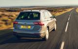 Volkswagen Tiguan Life 2020 UK first drive review - hero rear