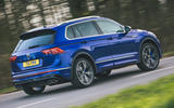 3 Volkswagen Tiguan R 2021 UK first drive review hero rear