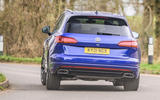 3 Volkswagen Touareg R eHybrid 2021 UK first drive review hero rear