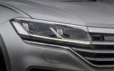 Volkswagen Touareg 2020 UK first drive review - headlights