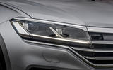 Volkswagen Touareg 2020 UK first drive review - headlights