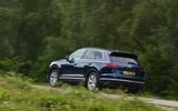 Volkswagen Touareg 3.0 TSI 2019 UK first drive review - hero rear