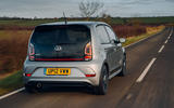 Volkswagen Up GTI 2020 UK first drive review - hero rear