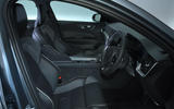 Volvo S60 T5 2019 UK first drive review - cabin