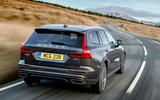 Volvo V60 Cross Country 2019 UK first drive review - hero rear