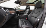 Volvo V90 R-Design Pro 2018 UK first drive review - cabin