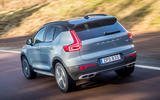 Volvo XC40 Recharge T5 2020 first drive review - hero rear