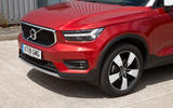 Volvo XC40 T3 2018 first drive review front end