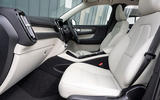 Volvo XC40 T5 2019 UK first drive review - cabin