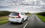 Volvo XC60 B5 2020 UK first drive review - hero rear
