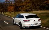 Volkswagen Arteon Shooting Brake eHybrid 2020 first drive review - hero rear