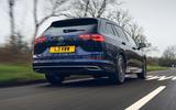 3 VW Golf Estate 2021 UK FD hero rear