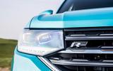 Volkswagen T-Cross R-Line 2020 UK first drive review - headlights