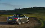 Audi TT Roadster 2019 UK first drive review - static rear