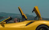 Ferrari 488 Pista Spider 2019 first drive review - roof folding
