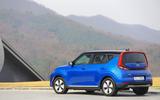Kia Soul EV 2019 first drive review - static rear