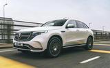 Mercedes-Benz EQC - hero front