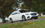 Mercedes-Benz S-Class S500L 2018 long-term review - on the road front