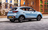 MG ZS EV 2019 UK first drive review - static rear