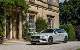 Volvo V60 D4 Inscription 2018 UK first drive review static hero