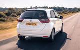 2020 Honda Jazz review - rear