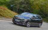 Peugeot 308 GT 2018 first drive UK review cornering front
