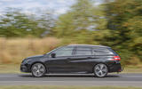 Peugeot 308 GT 2018 first drive UK review side