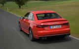 Audi S4 rear quarter