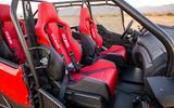 Honda Rugged Open Air Vehicle interior