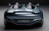 Aston Martin V12 Speedster 2020 - stationary rear