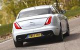 Jaguar XJ - tracking rear