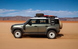 Land Rover Defender 110 S 2020 first drive review - on sand side