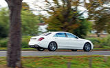 Mercedes-Benz S-Class S500L 2018 long-term review - on the road side