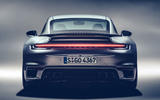 Porsche 911 Turbo S 2020 - stationary rear