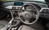 BMW 318i Sport dashboard