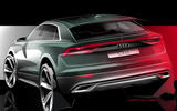 2018 Audi Q8 previewed with new image ahead of summer reveal