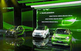 Smart Electric Drive range at the Paris motor show 2016 - show report and gallery
