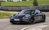 Porsche Taycan 2020 first drive review - static front
