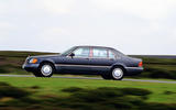 Mercedes S-Class W140 - tracking side