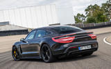 Porsche Taycan 2020 first drive review - static rear