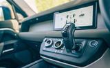 Land Rover Defender - interior