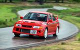 Mitsubishi Evo VI Tommi Makinen - tracking front