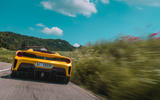 Ferrari 488 Pista Spider 2019 first drive review - rear