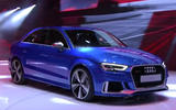 Audi RS3 at the Paris motor show 2016 - show report and gallery