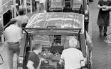 1970s Range Rover production line