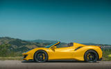 Ferrari 488 Pista Spider 2019 first drive review - static side